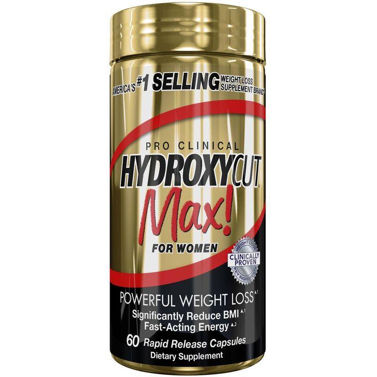 Hydroxycut Pro Clinical Max! jespaľovač tukov navrhnutý špeciálne pre ženy, ktorý obsahujeklinicky overené látky naspaľovanie tukov a formovanie postavy.