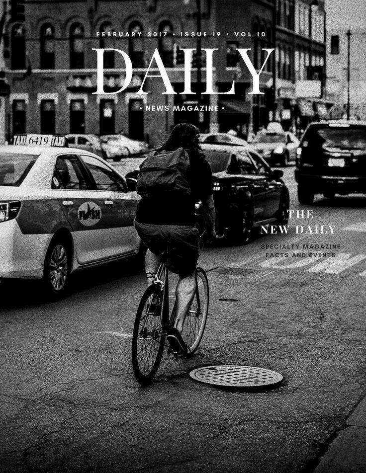 "Presentation layout, of the magazine for publishers. Specialty News Facts Magazine ""Daily"" in February, 2017 #bymonastyrskaia_projects #daily #newsstyle #photooftheday #nyc #paris #london #riga #california #sanfrancisco #milano #rome #newyork #magazine #arté #style #streetstyle #street  #publishinghouses"