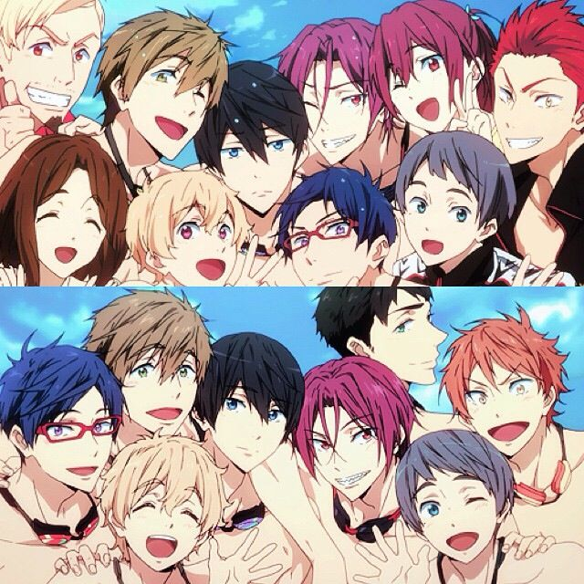 This anime is literally my life. It means so much to me and I will continue to love this anime until the day I perish. Thank you Free! for the laughs and tears and happiness. You will be missed❤️❤️