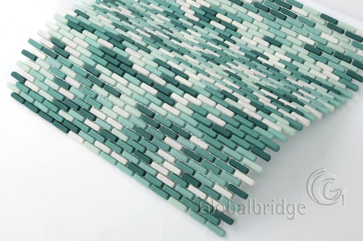 Enamel glass mosaic is also named full body glass mosaic or recycled glass mosaic. It is made of glass powder at a high temperature of 800 degrees.