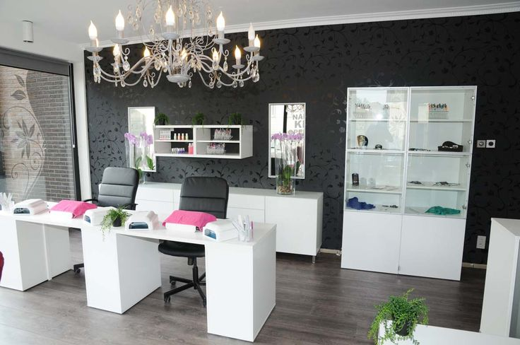 Love the look of this.| home nail salon decorating ideas | decor inspiration | salon flooring ideas
