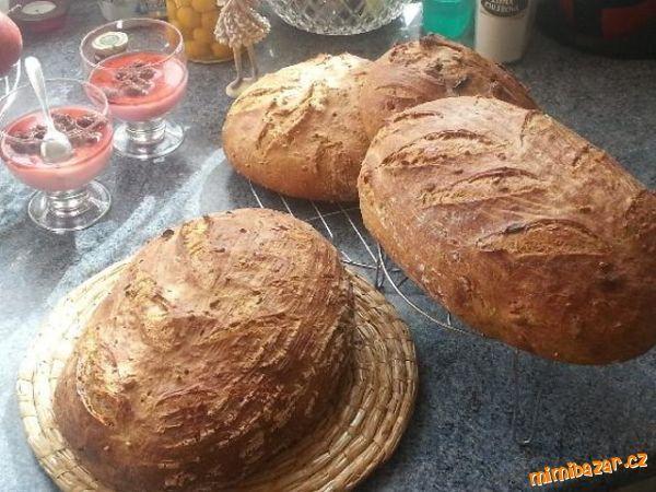 """chléb """"odokáč"""" z žitného kvásku...NAŠE CHLEBOMÁNIE."""