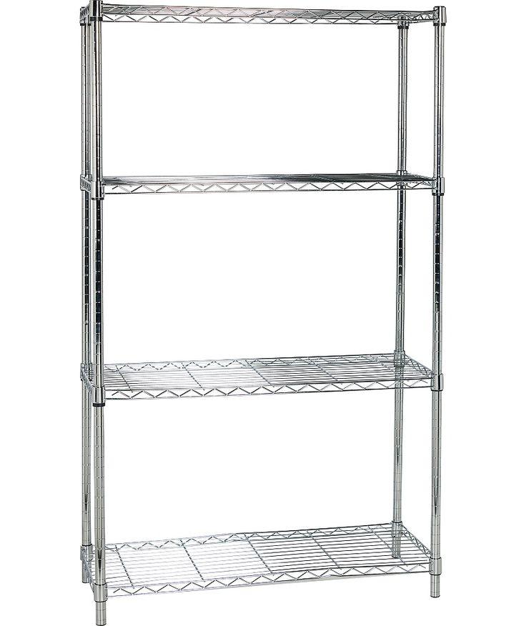best 25 metal shelving units ideas on pinterest kitchen. Black Bedroom Furniture Sets. Home Design Ideas