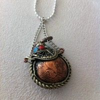 Eastern Elements Jewellery.  Copper Scent Bottle http://www.eastern-elements.com.au