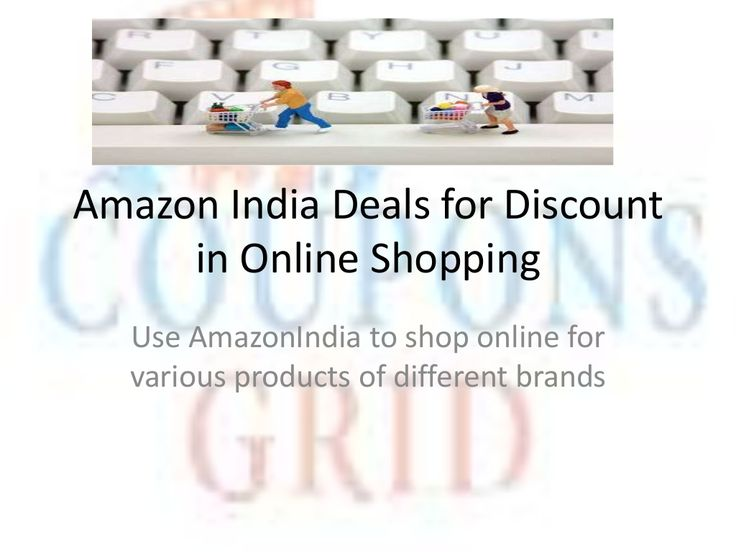 Amazon india deals @ couponsgrid by couponsgrid via slideshare