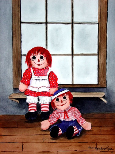 141 Best Raggedy Ann Andy Art Paintings And Prints