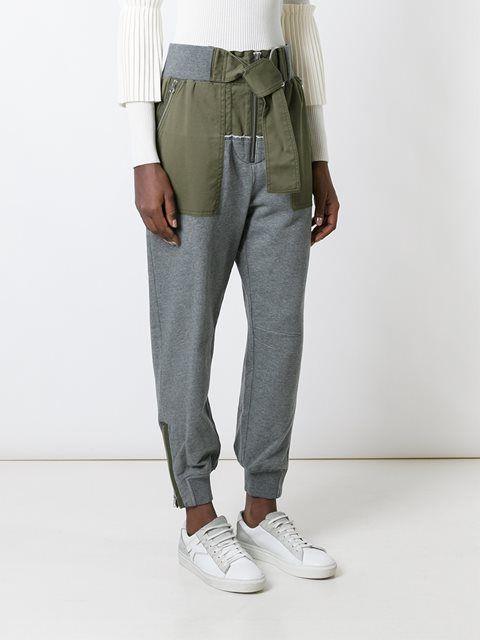 3.1 Phillip Lim panelled track pants