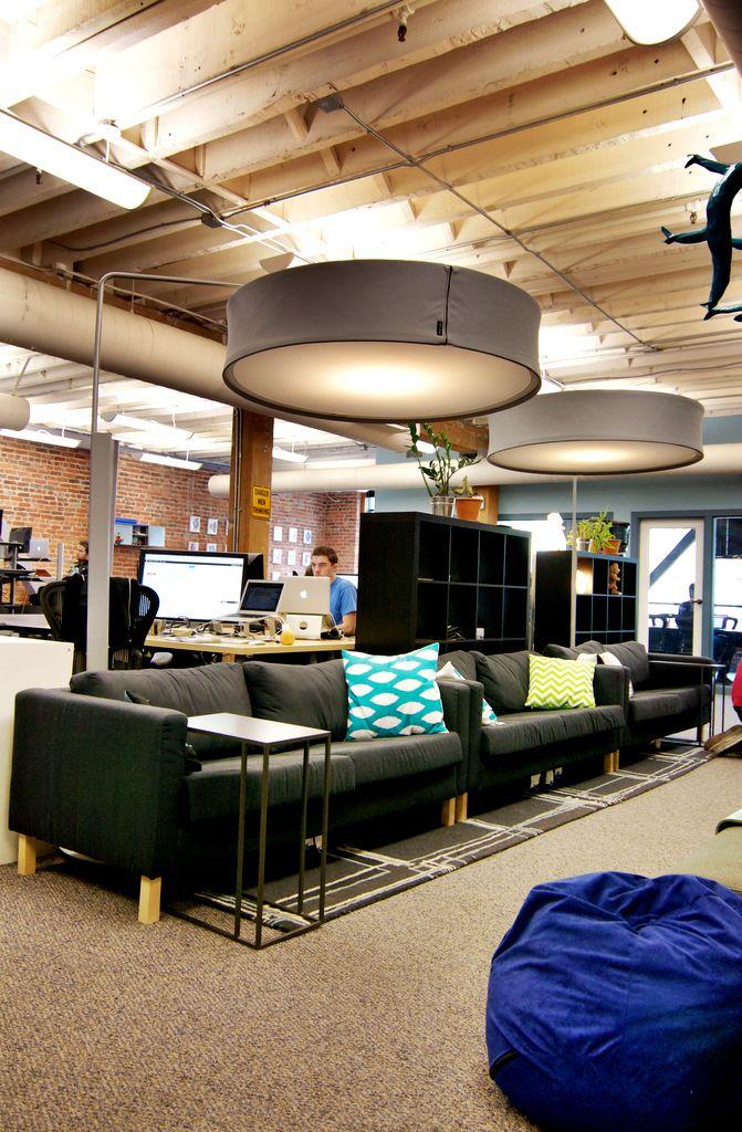 Sofa in Disqus office