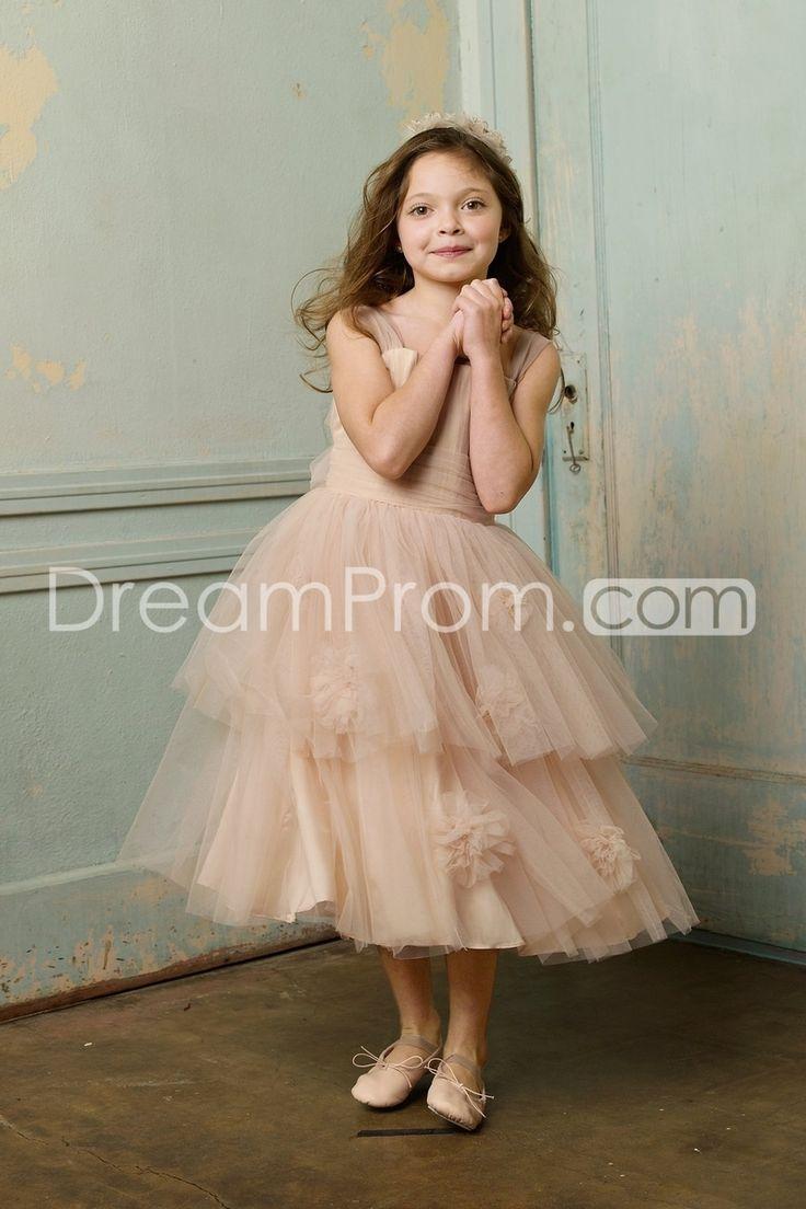 37 best Girl\'s Blush Dresses images on Pinterest | Blumenmädchen ...