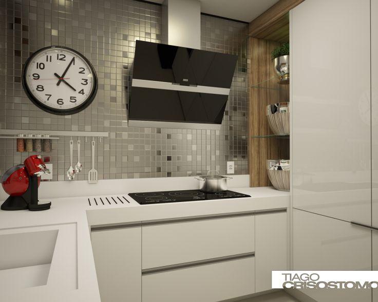 Cozinha Pastilha Inox Vista 03