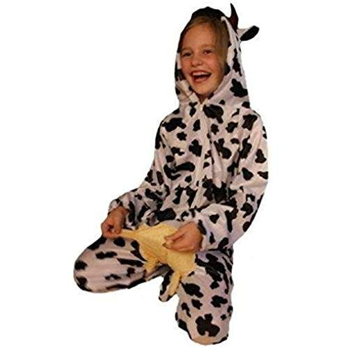 86-158 Kostüm Kuh Kuhkostüm Tierkostüm für Kinder Tier Kinderkostüm Gr