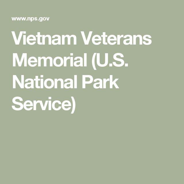 Vietnam Veterans Memorial (U.S. National Park Service)