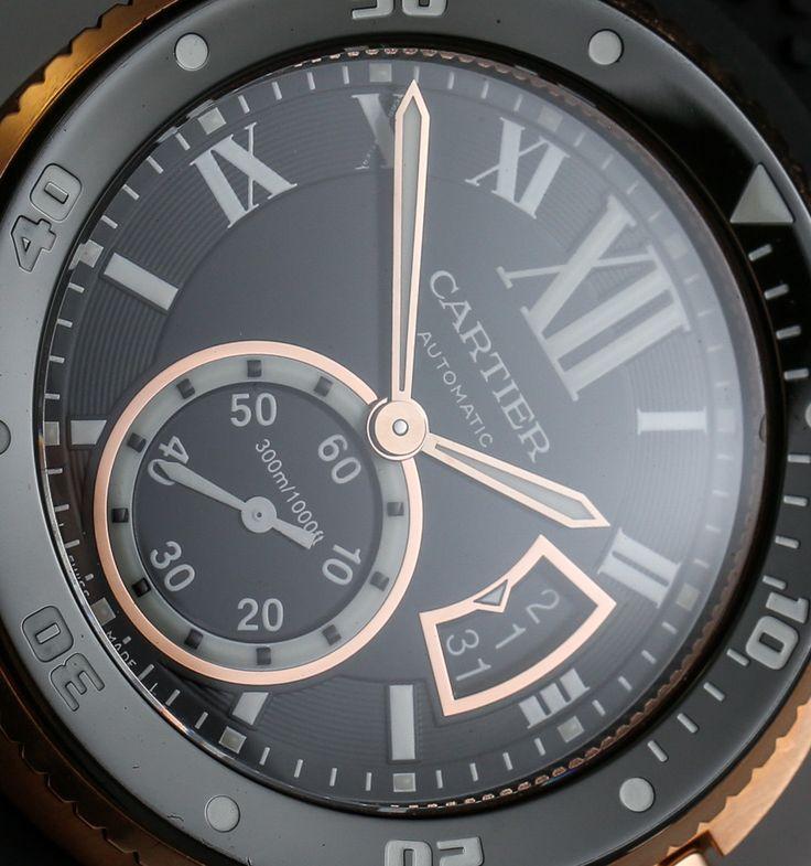 Cartier Calibre Diver Watch Review wrist time watch reviews