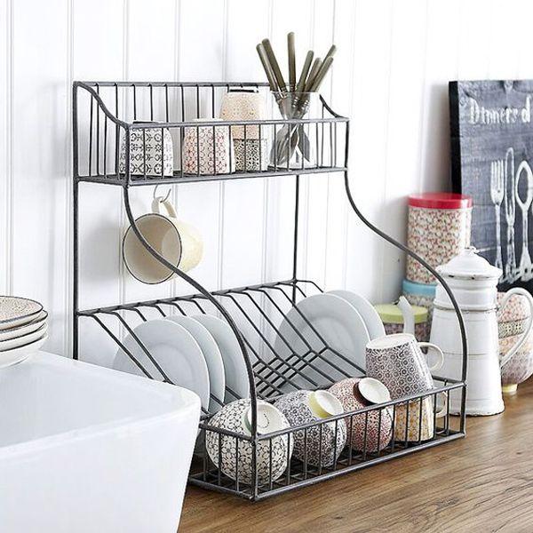 20 modern dish drying racks for kitchen