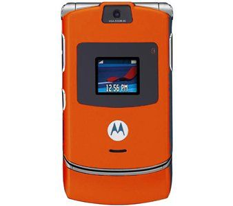 #Motorola?s new special-edition ORANGE RAZR V3 is the essence of advanced technology and superlative design. At only 13.9 mm thin, 53 mm wide (the width of a cre...
