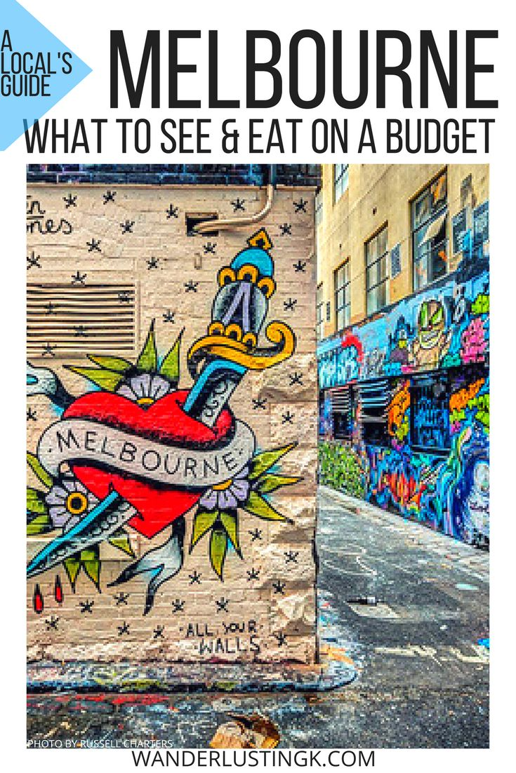 Traveling to Melbourne on a budget? Read a local's tips for the best FREE things to do in Melbourne & insider advice on where to eat in Melbourne under $15