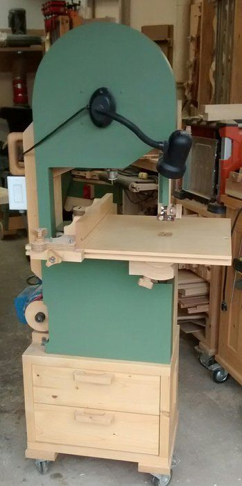 Homemade 16 Bandsaw Woodworking Pinterest Woodworking Tools
