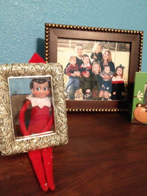 elf on a shelf | Elf on a Shelf - Framed! | Elfin