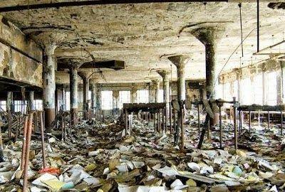 Los 40 lugares abandonados, mas bellos del planeta | Noti.in - Lo más interesante de la Red Biblioteca abandonada, Detroit