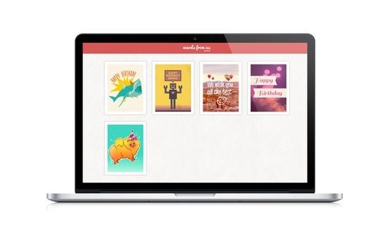WeCards, a collaborative ecard platform. Designed and developed by Dynamatik.