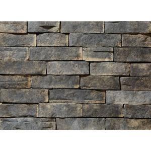 ClipStone Prostack Ash Flats 26-3/4 in. x 16 in. 8 sq. ft. Manufactured Stone (22-Piece per Carton)-CSM.10.004.30 - The Home Depot