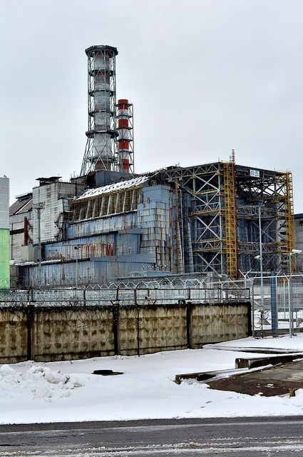 "(""Chernobyl, reactor 4"") caused a massive radiation meltdown. Totally destroyed the population living there, along with the domesticated & wild animals, & their homes ....."