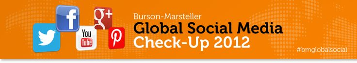 Global Social Media Check-up 2012 focuses on the F1000 and how they're using social media.