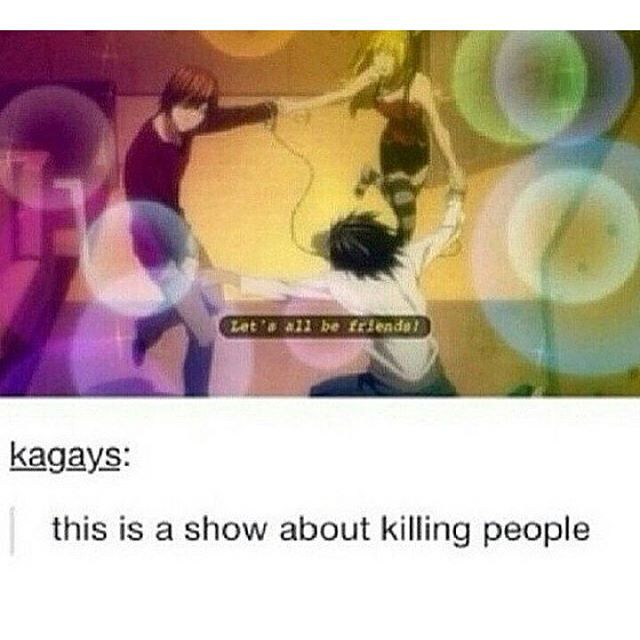 What? Can't kill people while fabulously being friends with the people you wanna kill?