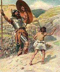 Thou shalt not murder (David did not murder Goliath).