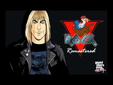 GTA Vice City - V Rock Radio Remastered HQ - YouTube