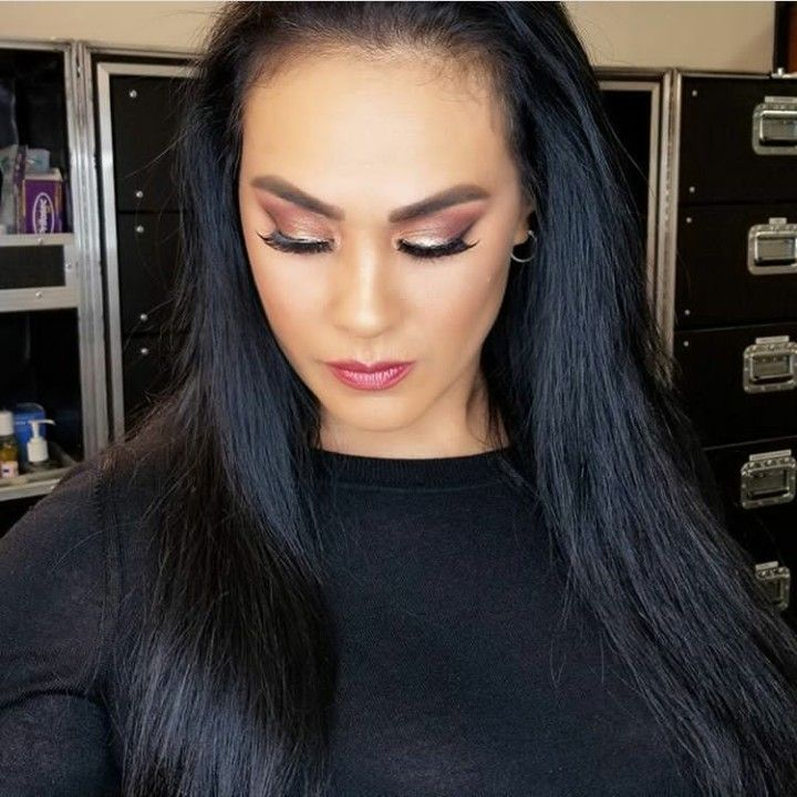 Tamina dolled up by WWE Glam Squad
