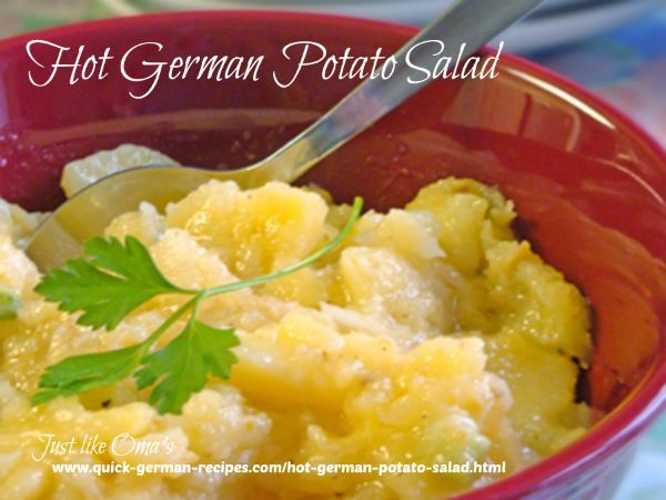 23 best german recipes images on pinterest german recipes cooking hot german potato salad httpquick german recipes forumfinder Image collections
