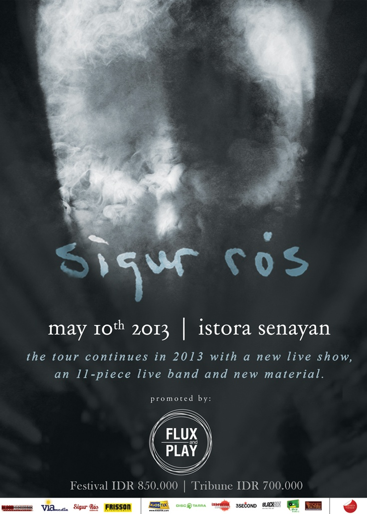 Sigur Ros Live in Jakarta