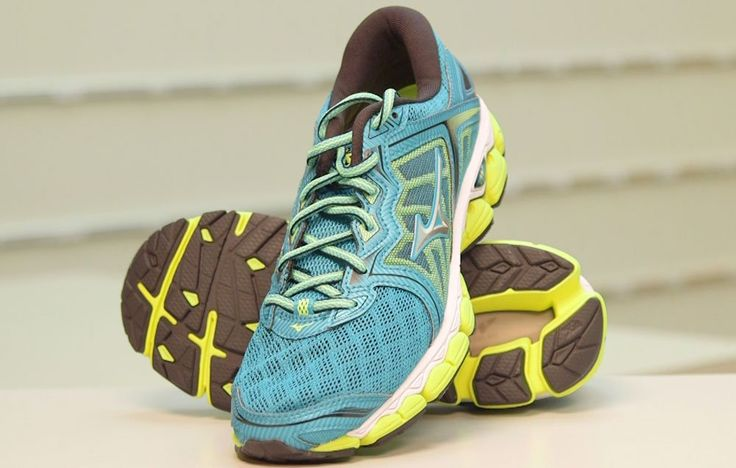 A preview of the latest highly cushioned shoe from Mizuno.