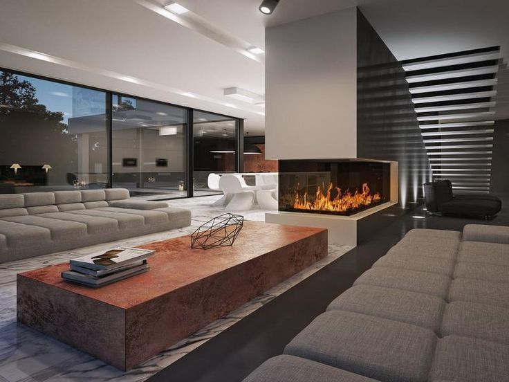 Living Room With Fireplace In Middle 86 best best fireplaces ever! images on pinterest | architecture
