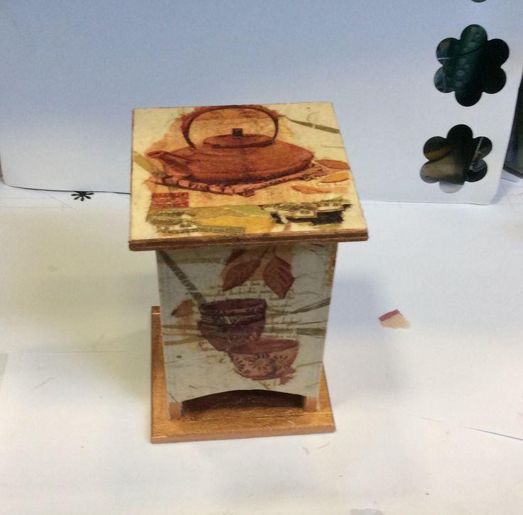 Teafilter doboz Szalvétatechnikàval