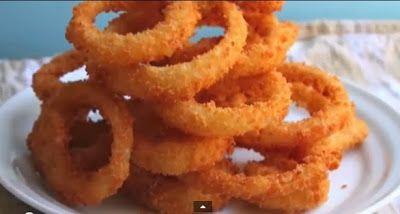 Δακτυλίδια κρεμμυδιού (Onion rings)