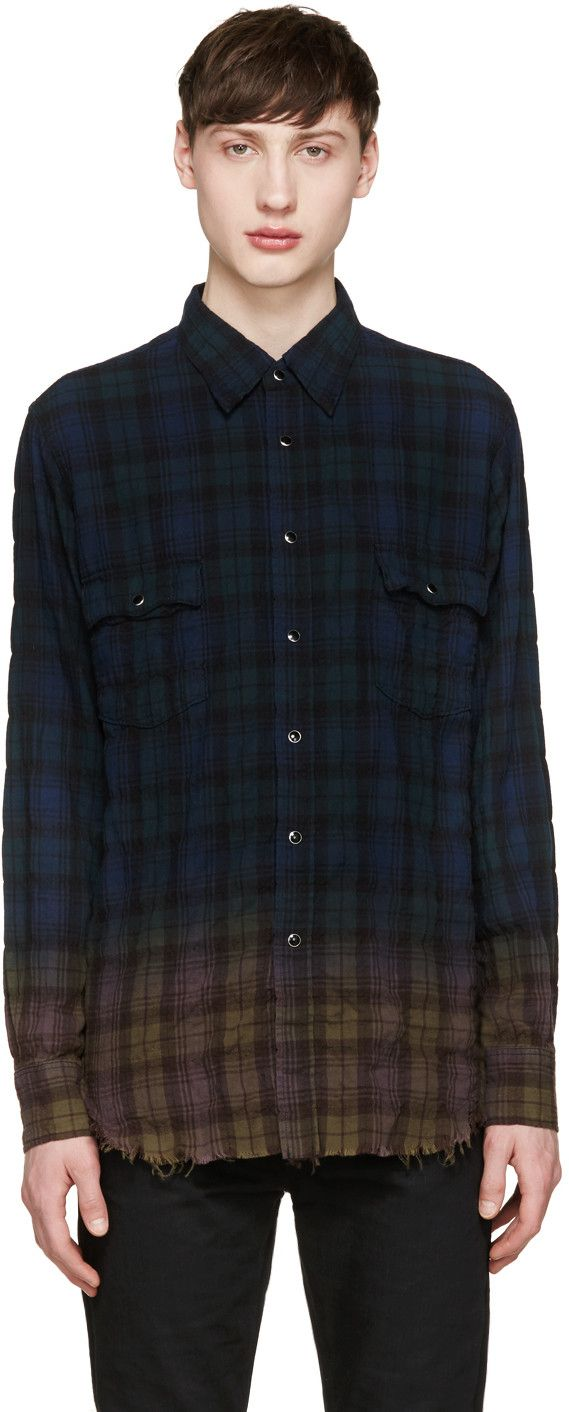 17 best ideas about checked shirts on pinterest check for Saint laurent check shirt