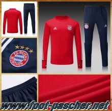 Survetement Adidas Homme Pas Cher Bayern Munich Rouge Ensemble 2017/2018 Discount