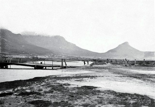 Cape town history - Salt River Mouth, near today's Paarden Eiland | Flickr - Photo Sharing!