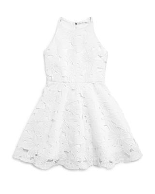 Miss Behave Girls' Floral Lace Dress - Sizes S-XL | Bloomingdale's