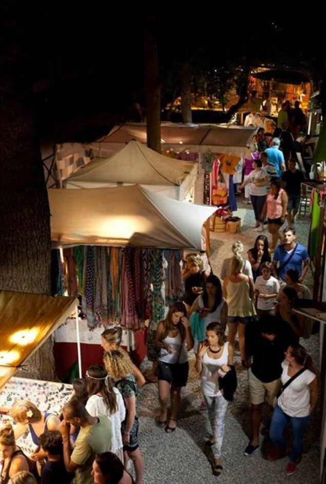 Las Dalias night market. lasdalias.es / #ibizashopping #nightmarket #lasdalias