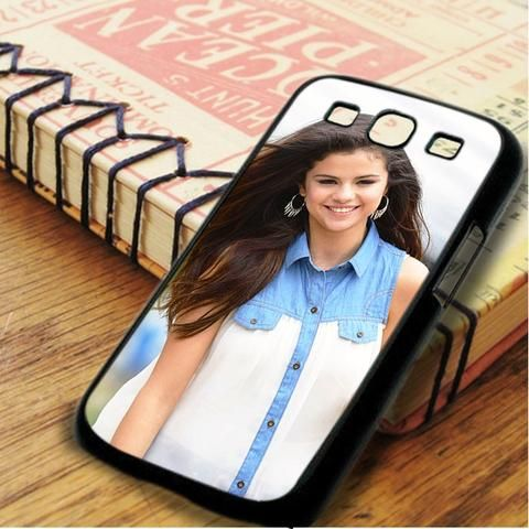 Selena Gomez Beautiful Hair Samsung Galaxy S3 Case