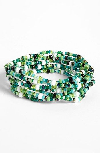 Me to We 'Rafiki - Food' Beaded Bracelet (Juniors) | Nordstrom.  Purchased one for the whole family!  We will make a difference in the Nut Hut!