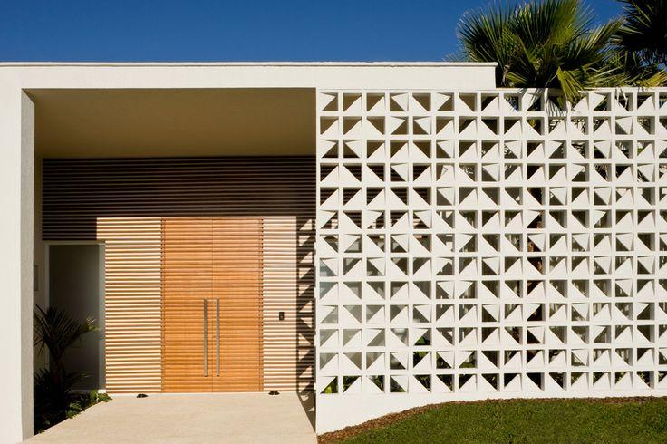 #perforated_block #concrete_block #facade casadevalentina.com.br