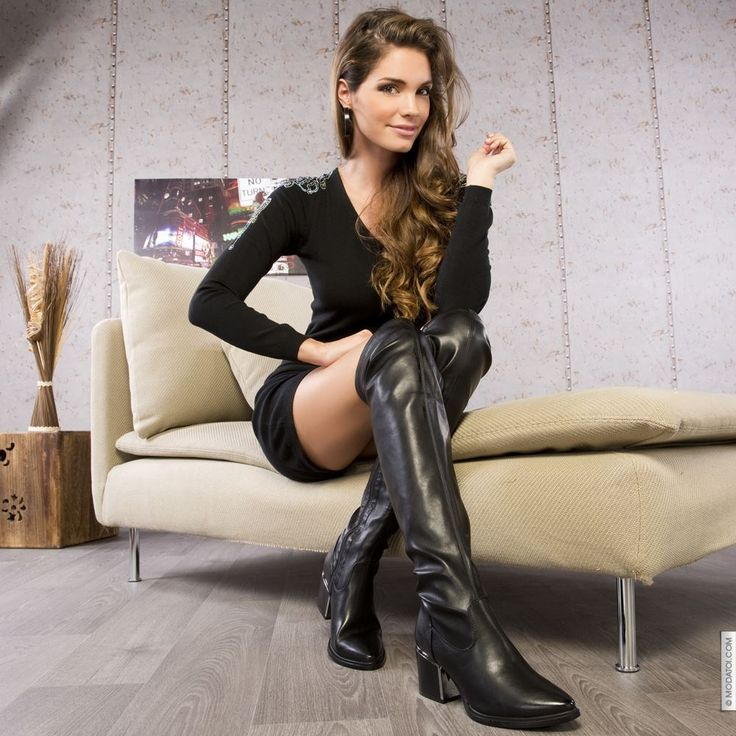 cuissardes glamour talons noir taille 38 achat en ligne bottes femme sur modatoiglamour. Black Bedroom Furniture Sets. Home Design Ideas