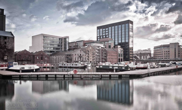 Grand Canal Dock, Dublin, Ireland, via Flickr.