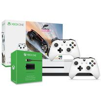 Xbox+One+S+1TB+Console+-+Forza+Horizon+3+Bundle+++Xbox+White+Wireless+Controller+++Xbox+One+Play+and+Charge+Kit.