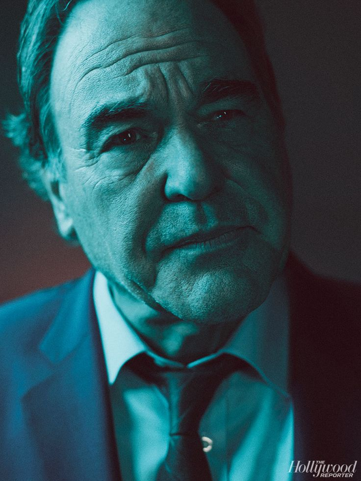 Oliver Stone, photographed by Miller Mobley
