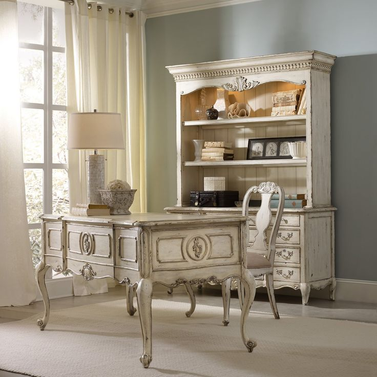 Hooker Furniture La Maison Off-White Writing Desk - 5437-10458